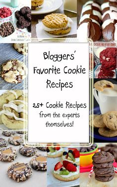 Busy Mom's Helper: Family fun, food, recipes and crafts.: Bloggers' Favorite Cookies Round-up