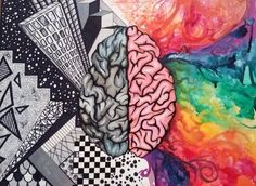 Left braid vs right brain