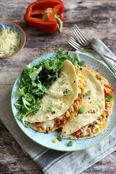 Juditka konyhája: ~ CSIRKÉS QUESADILLAS ~ Diet Recipes, Healthy Recipes, Clean Eating, Healthy Eating, Good Food, Yummy Food, Hungarian Recipes, Quick Meals, Summer Recipes