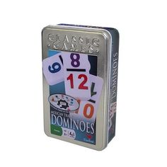 Mexican Train Dominoes with 2 Color Numbers | Sparky Toys