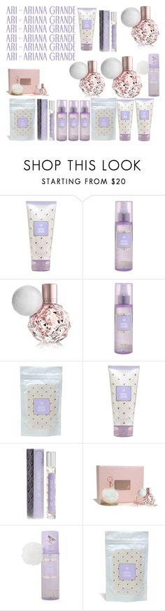 """ARI BY ARIANA GRANDE"" by brubisbruu ❤ liked on Polyvore featuring beauty"