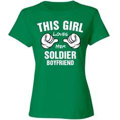 Girl loves her soldier boyfriend