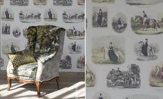 Buckingham Wallpaper | Royal Collection