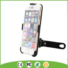 Scooter Cell Phone Mount Holder Mirror Mount Rear View Phone Holder for iPhone 6/6S/7