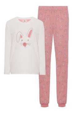 Primark - Pyjama crème lapin