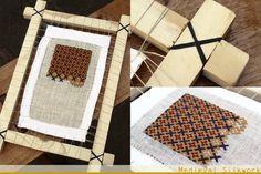 Medieval Silkwork: Embroidery frame