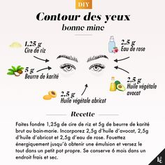 """DIY: Special """"good-looking"""" eye area Beauty Box, Beauty Care, Diy Beauty, Beauty Skin, Beauty Hacks, Natural Beauty Tips, Health And Beauty Tips, Natural Skin Care, Face Care"""