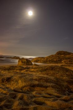 Beach At Night  | by Steven Porro on 500px
