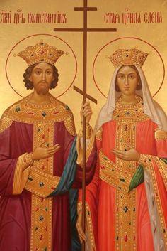 Constantine The Great, Jesus Painting, Icon Collection, Orthodox Icons, Religious Art, Style Icons, Catholic, Saints, Princess Zelda