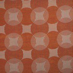 Warwick Fabrics : CIRRUS, Colour TANGERINE