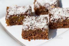 Recept na úžasný, jednoduchý, šťavnatý cuketový koláč.
