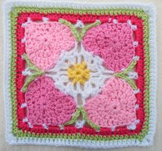 Ravelry: Maryfairys Happy Hearts for Crochet Sampler Favorites CAL ~ free pattern