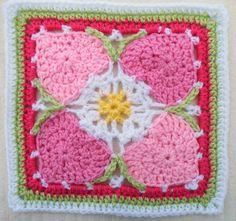 Ravelry: Maryfairys Happy Hearts for Crochet Sampler Favorites CAL ~ free pattern