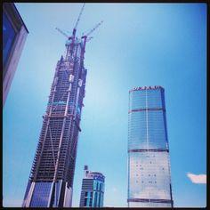 #Shenzhen - hoch, höher am höchsten! Hier wird gebaut was das Zeug hält.