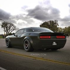 A New Rendering Of Dodge Challenger SRT Demon Dodge Challenger SRT Demon is the latest car from the car maker and we've got another rendering, but this time – meaner. This design has been made by Jonsibal and it's considered to be more aggressive than Hellcat. It has got bigger rims, wider hips and standard drag radials. The model is going t...