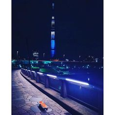 Instagram【pennyboard_samurai.danjiboys】さんの写真をピンしています。 《This photo was taken by @haran_23  #tokyo #japan #penny #pennyadventures #pennytime #pennymoments #skateboard #nightcruise #samuraiboys #東京 #東京スカイツリー #ペニー #ナイトクルージング #夜景 #侍男児》