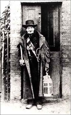 Charlie Rouse was the last of the 'Watchmen' in London before the formation of the 'Peelers' who where the world's first police force.