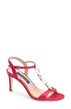 69894bb3bd3 Badgley Mischka  Gala  Crystal Embellished Evening Sandal (Women ...