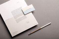 Business card and headed paper designed by La Tortillería for Spanish kitchen and bar Tamarindo