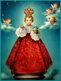 El Milagroso Niño Jesús de Praga, en Santa María de la Victoria de Praga, República Checa (24 de enero, 1er dgo junio)