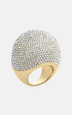 Michael Kors - brilliance pavé bubble ring.