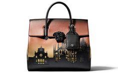 Siedem znanych miast zainspirowało Versace do stworzenia siedmiu nowych, eleganckich torebek