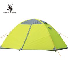 Gazelle Outdoors 1 Person 3 Season Double Layer Backpacking Tent, Waterproof Aluminum Rod, for Outdoor, Camping, Hiking, Travel -- Unbelievable product right here! : Hiking tents