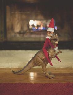 Elf on the shelf- haha!!