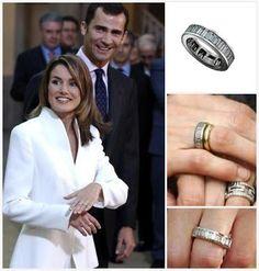 The Royal Order of Sartorial Splendor: Flashback Friday: Mediterranean Engagement Rings Royal Rings, Unique Wedding Bands, Wedding Rings, Wedding Ideas, Royal Jewelry, Jewellery, Royal Tiaras, Lucky Ladies, Royals