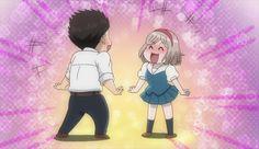 When you suddenly see comrades haha Love Stage, Anime Reviews, Cowboy Bebop, Hetalia, Anime Love, Animated Gif, Haha, High School, Animation