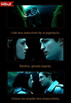 Cytaty Filmowe z Filmu Zmierzch HELTER Twilight, Humor, Movie Posters, Cheer, Film Poster, Popcorn Posters, Ha Ha, Film Posters, Humour