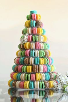 1000 Images About Macaron Towers On Pinterest Macaron