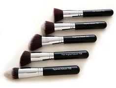 Make-Up Pinselset Kosmetik Kabuki Pinsel Set - 10 Teiliges Premium Schminkpinsel Set