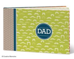 Simple way to let Dad know how much you love and admire him.  And with mustaches on the front you can't go wrong! $16