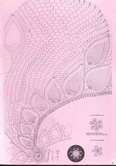 Spiral Pineapple Doily Tablecloth Crochet Pattern. More Patterns Like This!