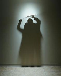 Fascinating Shadow Art by Kumi YAMASHITA shadow boxing