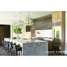 Alice Lane Home Collection | French Moderne Manor | Kitchen