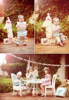1st bday party idea @Lindsay Larsen...the big 1has princess fairy tales on it! so cute