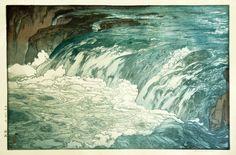 Под лежачий камень вода не течёт./ Вода камень точит. Yoshida Hiroshiи другие авторы в интернет-магазине Худсовет. #art #painting #живопись #художник #идеяподарка #чтоподарить #худсовет #продажакартин #купитькартину #рисование #арт #москва #река #красота #гдекупитькартину #холст #философия