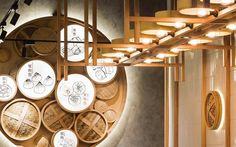 How To Make Home Decoration Items Key: 1713363096 Tea Restaurant, Restaurant Concept, Chinese Restaurant, Chinese Interior, Japanese Interior, Shoe Store Design, Industrial Cafe, Asian Restaurants, Lokal