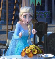 frozen, fever, elsa, anna, tumblr, let it go, disney, gif, kristoff, olaf, hans, the cold never bothered me anyway, making today a perfect day, song, short, sisters, birthday