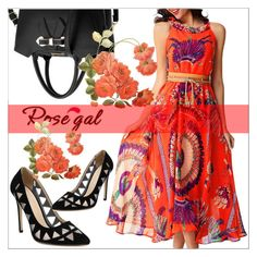 """Rosegal"" by mujkic-merima ❤ liked on Polyvore featuring rosegal"