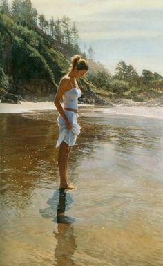 Steve Hanks Watercolor Paintings. Yes, this is all it takes to make it my twilight.........