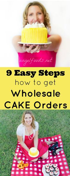 9 Easy Steps to get Wholesale Cake Orders | If you are looking for more regular income and cake orders and want to figure out how to get café, restaurants and shop orders.orders