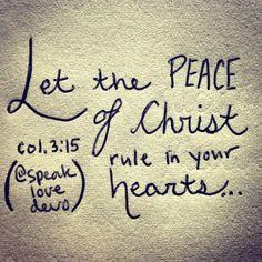 Colossians 3:15 Favorite bible verse :)