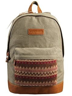 EABAG Unisex's Multifunctional Cool School Soft Canvas Backpack (Army Green) EABAG http://www.amazon.com/dp/B00M18MONA/ref=cm_sw_r_pi_dp_a68gub16PC1DS