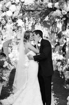 First Kiss | Yvette Roman Photography | TheKnot.com
