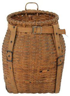 One Kings Lane - To the Snow - Adirondack Pack    Basket