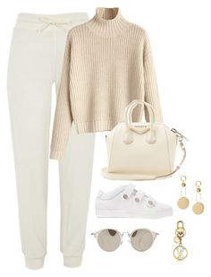 """""""Untitled #4509"""" by magsmccray ❤ liked on Polyvore featuring River Island, Jimmy Choo, Miu Miu and Givenchy"""