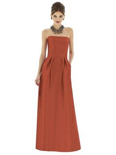 Alfred Sung Style D615 http://www.dessy.com/dresses/bridesmaid/d615/ #FallingInLove